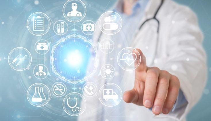 Image de données numériques en santé