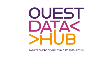 logo ouest data hub rectangle
